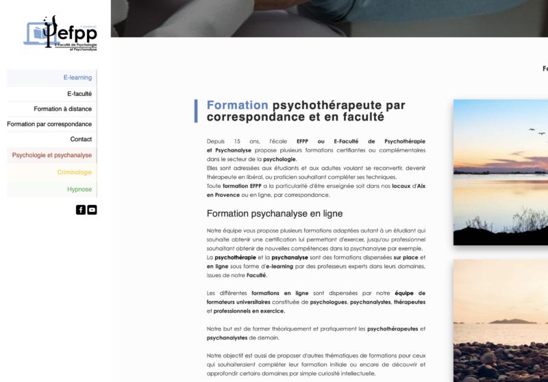 web content - efpp-psychotherapie - SC WEB SERVICES AS