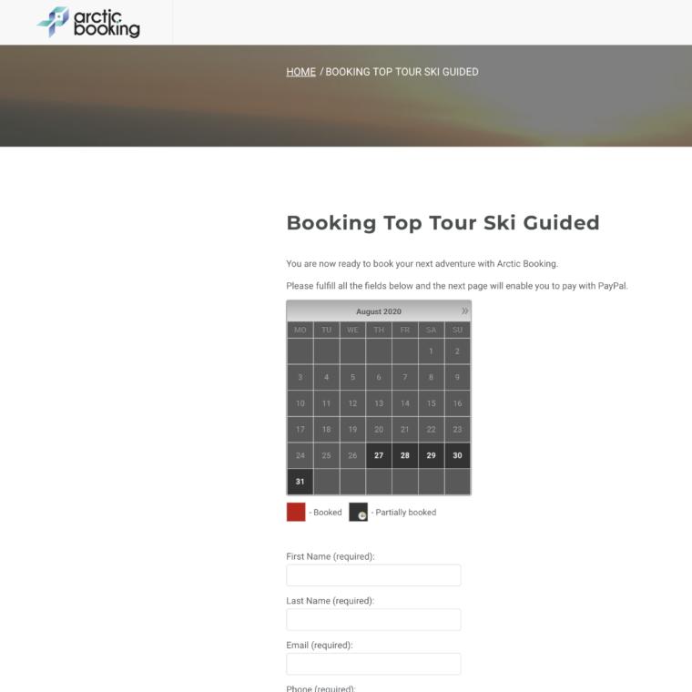 website-optimization-booking-arctic-booking